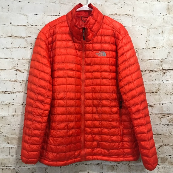 84b1b6493 The North Face | Orange Thermoball Jacket XXL